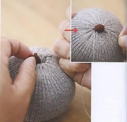 Как сделать сову своими из ниток