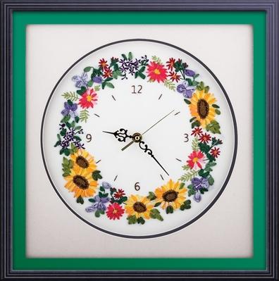 Цветочные часы Panna 23.5*24