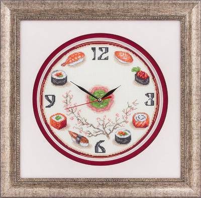 Часы Суши 24*24