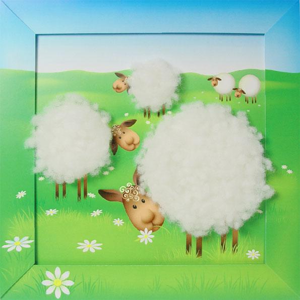 Мастер класс для детей 6 лет овечка