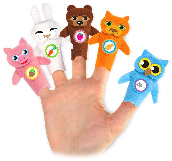 Игрушки на пальцы рук своими руками