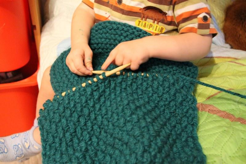 Вязание из пехорки осенней